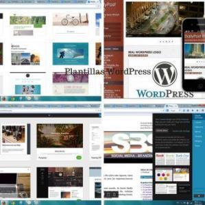 existen plantillas de WordPress gratis y de pago, se pueden personalizar