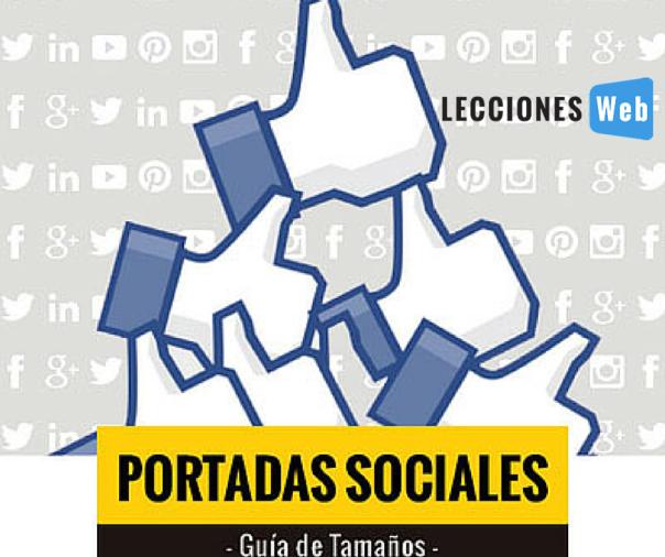 Guía de tamaños para portadas sociales